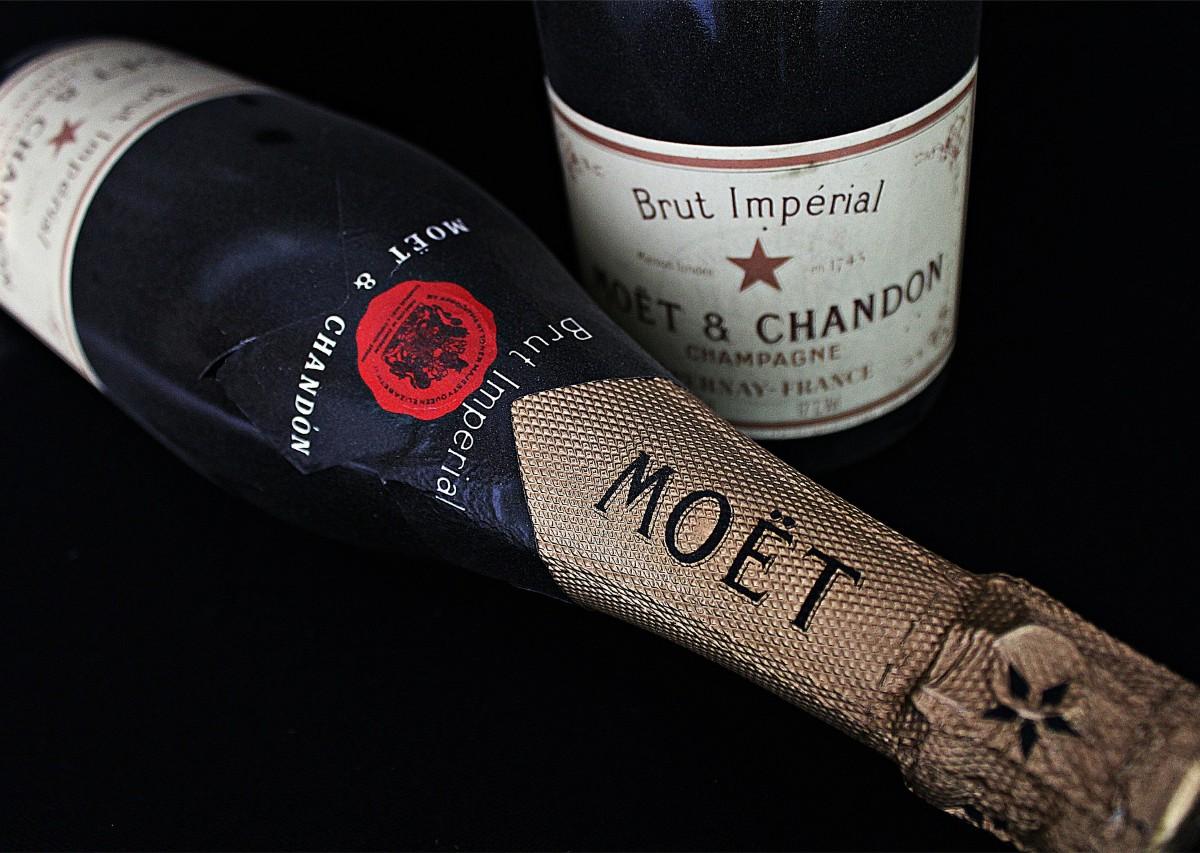 Champagne cadeau d'affaire
